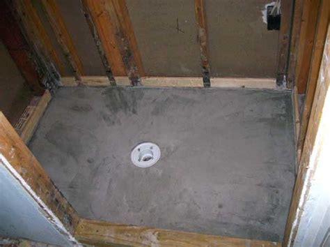Shower Mud Pan by Shower Pan