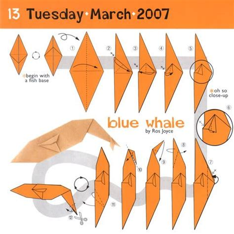 How To Make A Paper Whale - 58 best images about origami on origami birds