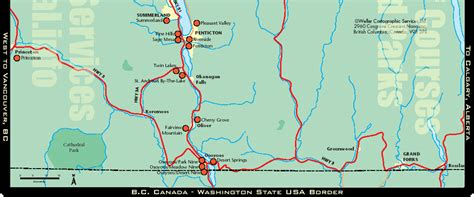 Road Map Of Bc Interior by Big In America 3 Tag Roadtrip Letzter Tag Mit Kater