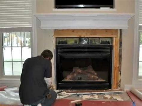 how to replace fireplace tile how to tile a fireplace tiling marble tile