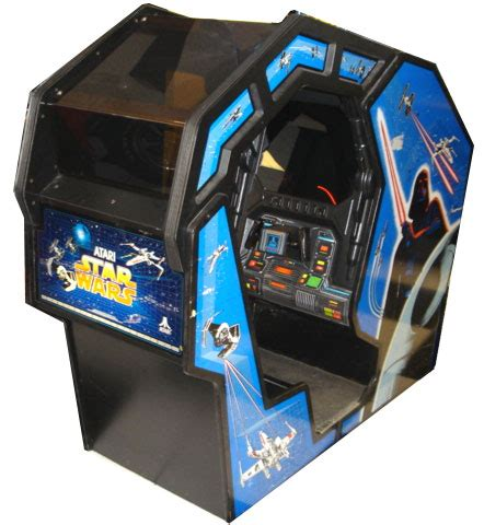 sit down arcade cabinet star wars atari version arcade ign