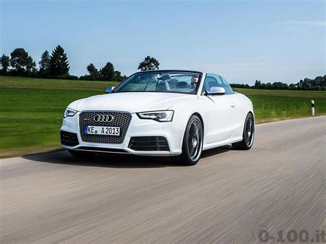 Audi Rs5 0 100 by Abt Audi Rs5 Quella Delicatezza Che Sconvolge 0 100