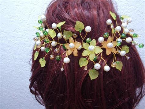 Handmade Hairband - flower hair crown jewelry handmade headband wedding flower
