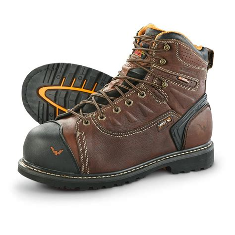 safety toe work boots thorogood s waterproof composite safety toe work boots