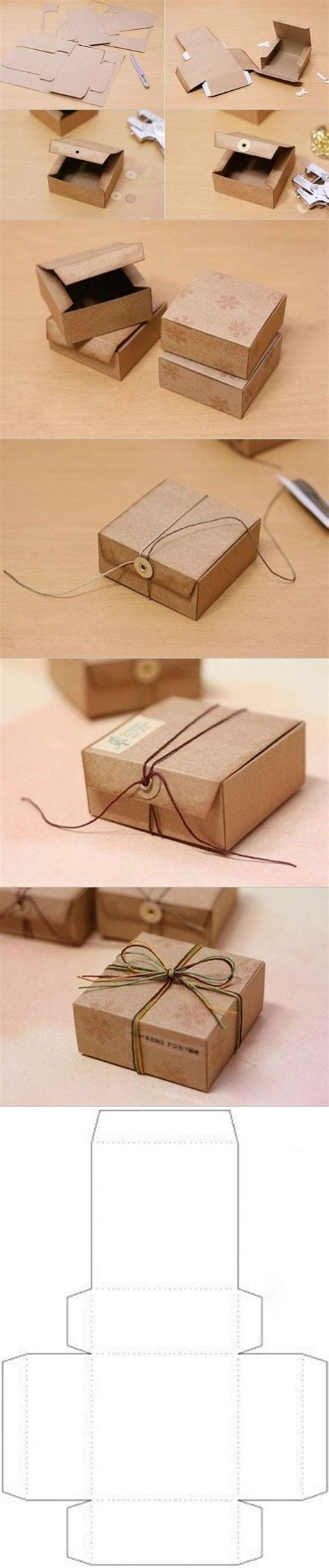 diy gift box from cardboard fab art diy