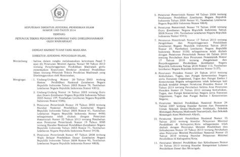 pendirian yayasan pdf petunjuk teknis pendirian madrasah yang diselenggarakan