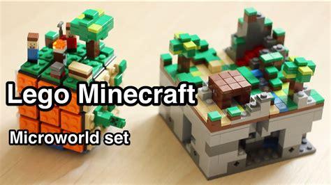 Lego Minecraft Cube World 1 lego minecraft micro world 21102 3 overview