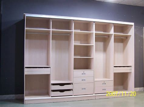 Closet Building Materials walk in closet made by melamine chipboard view melamine