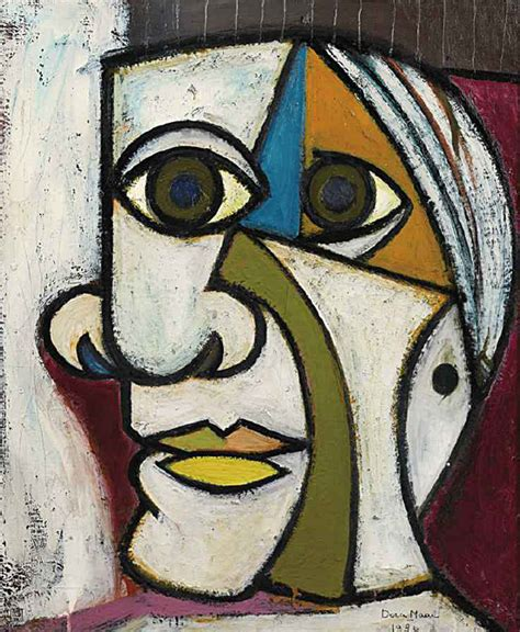 picasso paintings maar 1907 1997