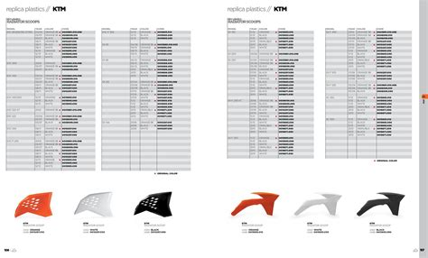 Ktm Code 2013 Acerbis Plastics By Acerbis Italia Spa Page 54 Issuu
