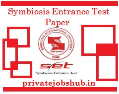 How To Prepare For Symbiosis Entrance Test For Mba by Symbiosis Entrance Test Paper 2017 Set Previous Year