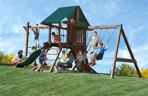 swing set with monkey bars kids playsets with monkey bars two ring with monkey bars