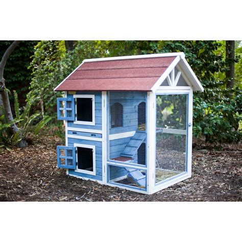 rabbit house advantek row house rabbit hutch reviews wayfair