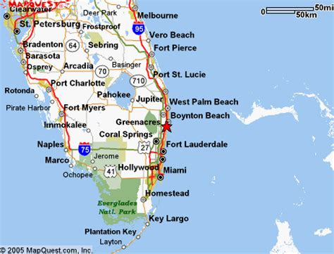 map of florida delray delray fl is located on the east coast of south