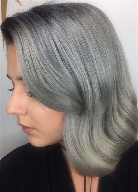 hairstyle ideas for grey hair 85 silver hair color ideas and tips for dyeing maintaining