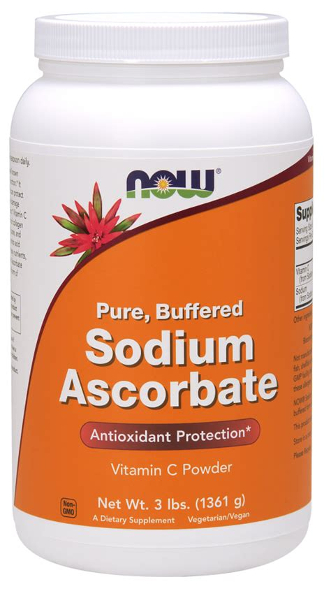 Suplemen Yodium Sodium Ascorbate Powder Now Foods