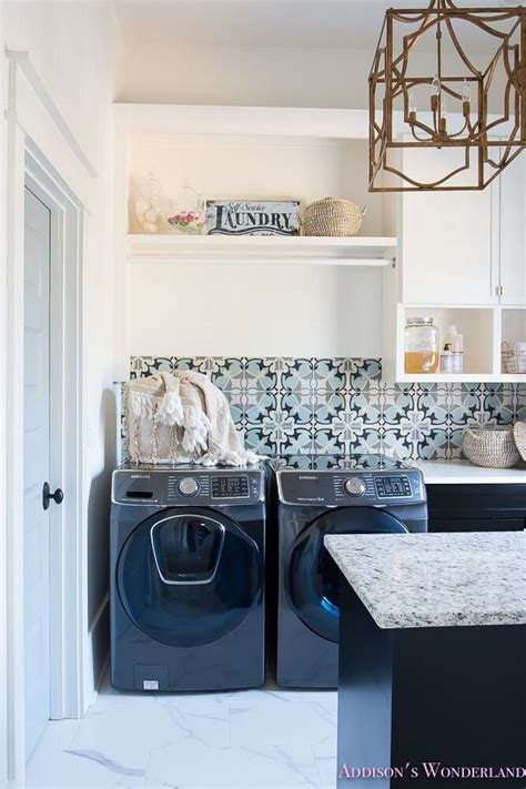 Beautiful Homes Of Instagram Home Bunch Interior Design Laundry Room Backsplash Ideas