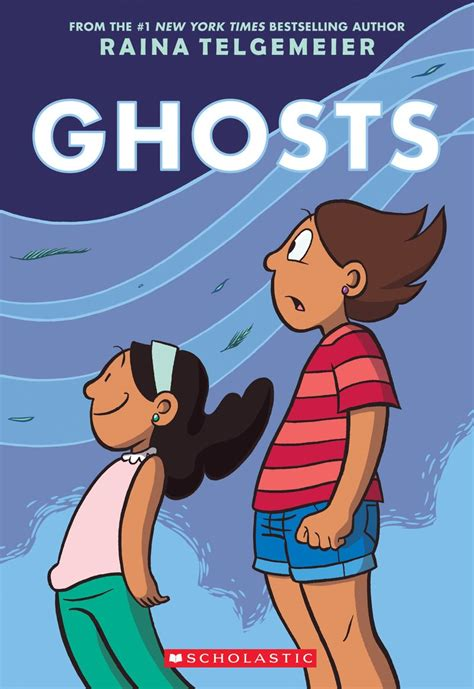 libro the art of ghost ghosts by raina telgemeier scholastic