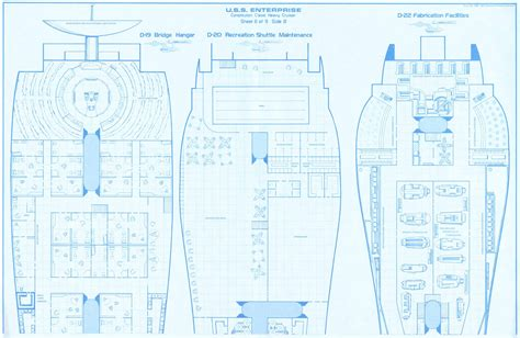 uss enterprise floor plan uss enterprise fasa 15mm deck plans sheet plan fantastic