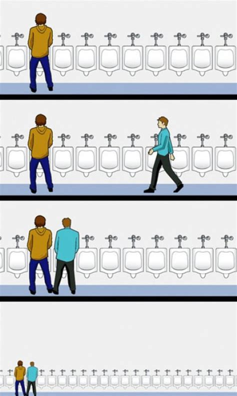 male bathroom etiquette funny image bad urinal manners geek montage