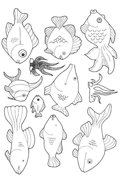 kids n fun com coloring page fish fish