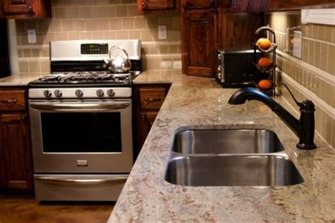 Kitchen Cabinets And Counters Sienna Bordeaux Kitchen Counters Granite Countertops