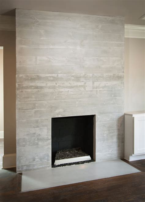 Floor To Ceiling Tiled Fireplace by Custom Made Concrete Fireplace Surround Mantle