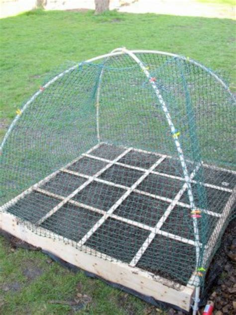 Raised Garden Cover - diy pvc cover for raised beds