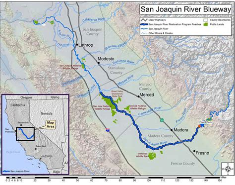 california map san joaquin river a vision for enjoyment and stewardship of the san