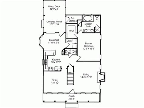 creole cottage floor plan eplans low country house plan creole cottage 1768 square and 3 bedrooms from eplans