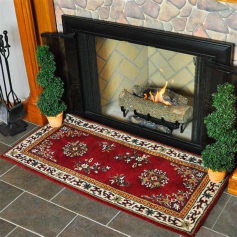 hearth rugs for wood stoves minuteman international burgundy rectangular wool hearth rug home garden fireplace wood
