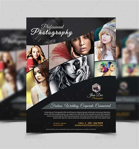 Photography Flyer Template by 33 Best Photography Flyer Templates Psd