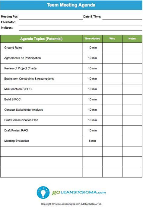 production meeting agenda template 10 management meeting agenda