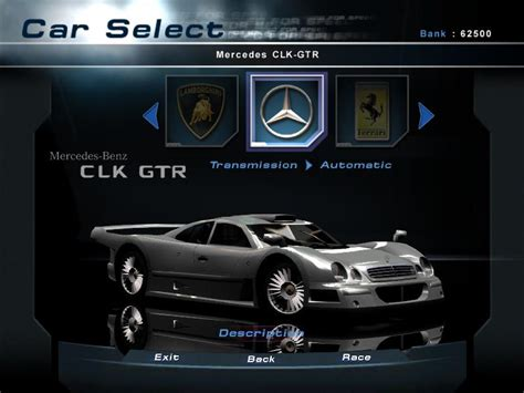 truck need for speed wiki wikia image nfshp2 car mercedes benz clk gtr pc jpg need