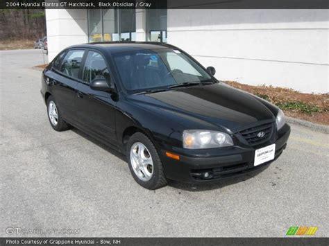 2004 Hyundai Elantra Gt by 2004 Hyundai Elantra Gt Hatchback In Black Obsidian Photo