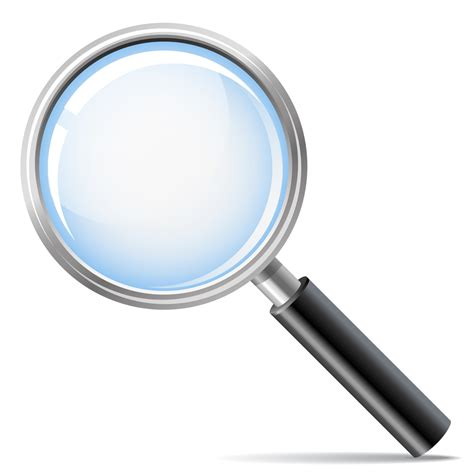 Search By Photo On Pr Bigstock Magnifying Glass As Search Ico 15600446