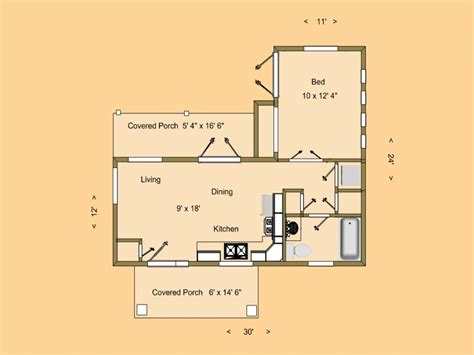500 sq ft tiny house very small house plans small house floor plans under 500