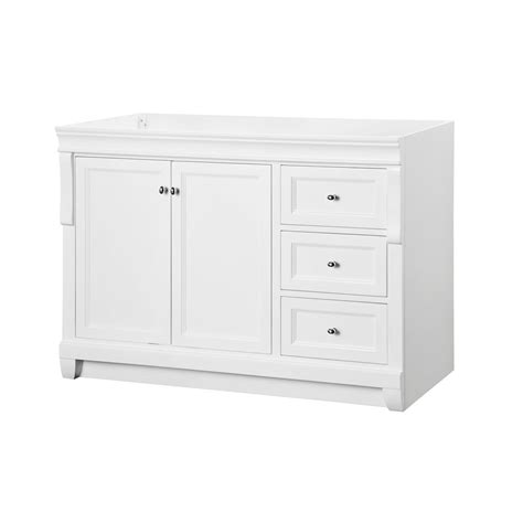 Home Depot Bathroom Vanities 48 Naples White 48 Inch Vanity