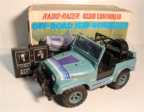 jeep toy tandy radio shack jeep renegade 1984 r c toy memories