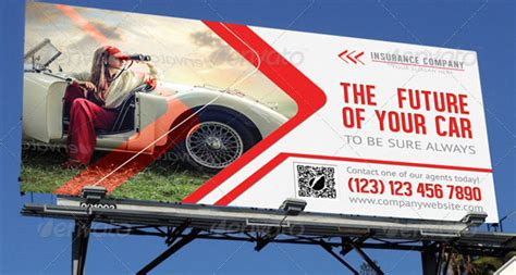 design outdoor banner 17 cool billboard rollup banner templates for insurance