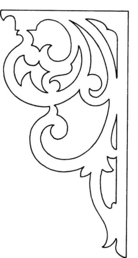 61 Best Patterns Images On Pinterest Arabesque Draw And Drawn Thread Scroll Saw Designs Templates