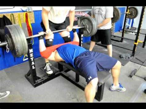 slingshot for bench press bench press with sling shot 405 for 11 reps doovi