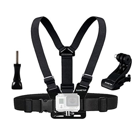 Chest Harness Mount For Gopro best chest harness sametop adjustable chest mount