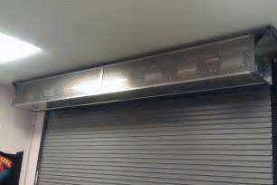 air curtain door industrial direct drive 12 berner
