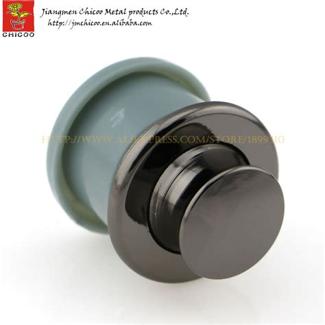 Outbow Plastic Push Button aliexpress buy black colour zinc alloy and abs plastic push button knob furniture drawer