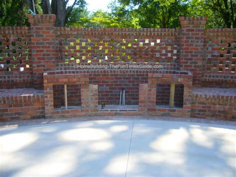 Brick Laminate Picture Brick Garden Wall Designs Garden Brick Wall Ideas