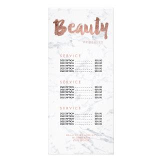 makeup price list template price list gifts t shirts posters other gift