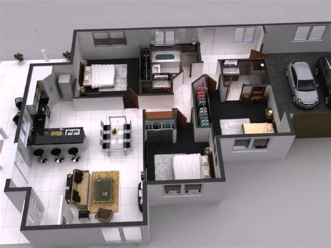 Interactive 3d Floor Plan 360 Virtual Tours For Home House Plans With 3d Interior Images