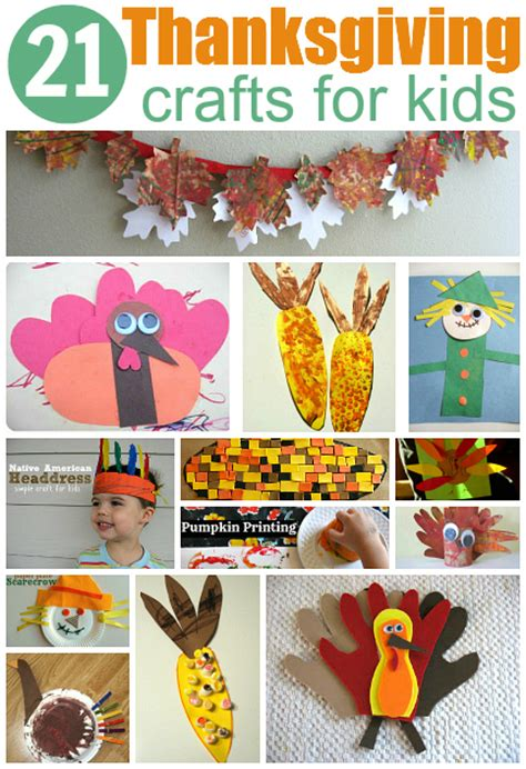 easy thanksgiving crafts for thanksgiving crafts for
