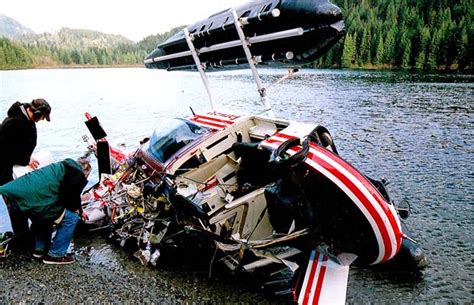 boating accident alberta death of helicopter pilot in terrible rushing fraser